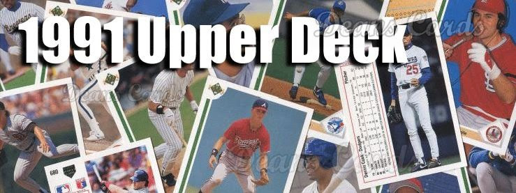 Upper Deck Baseball Cards Price Guide 1991