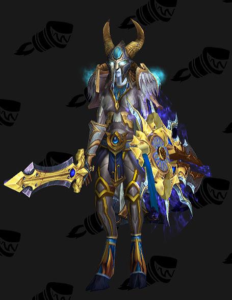 Protection Paladin Artifact Transmog Legion #1 WoW by BigDamnCompletionist on DeviantArt