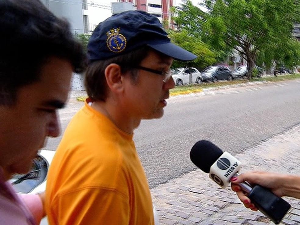 Guilherme Wanderley está preso desde o dia 25 de março (Foto: Reprodução/Inter TV Cabugi)