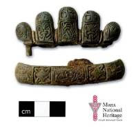 GLIMPSE OF HISTORY: The fragments of a Viking sword found in the north west of the Isle of Man