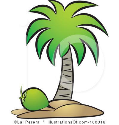 Gambar Pohon Kelapa Clip Art Clipartsco Gambarmugo