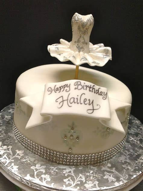 Plumeria Cake Studio: Bling'd Out Ballerina Birthday Cake