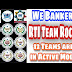 Action Speaks Louder Than Words ।। 12 Teams Are on Action Mode ।। We Bankers RTI Team Rocks ।।