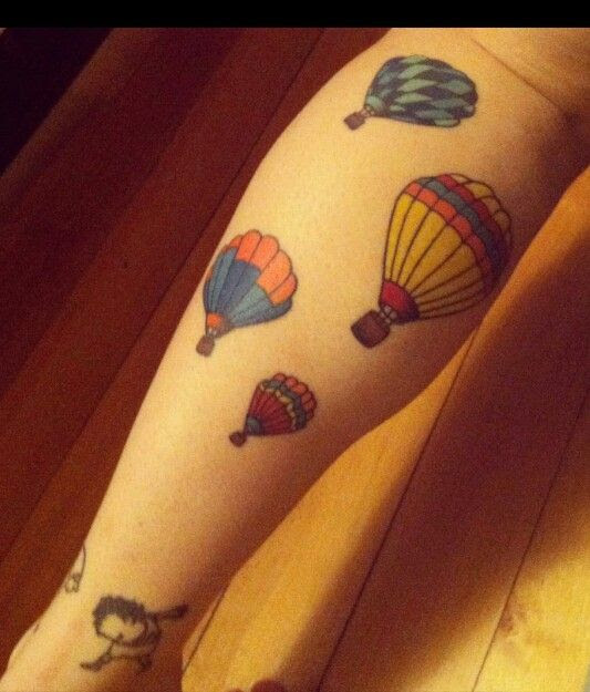 Pictures Of Hot Air Balloon Tattoo Kidskunstinfo