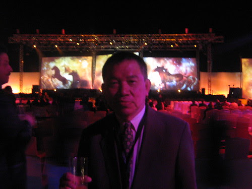 Dad at the Dubai Film Fest closing ceremony