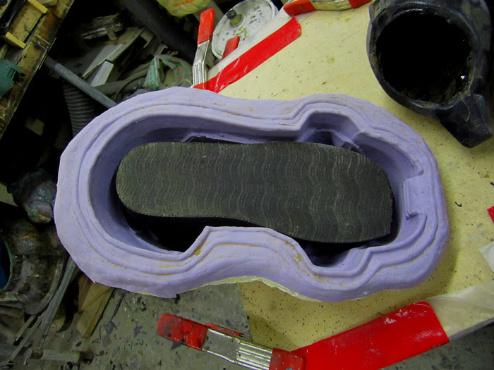 Boot Mold Prepped