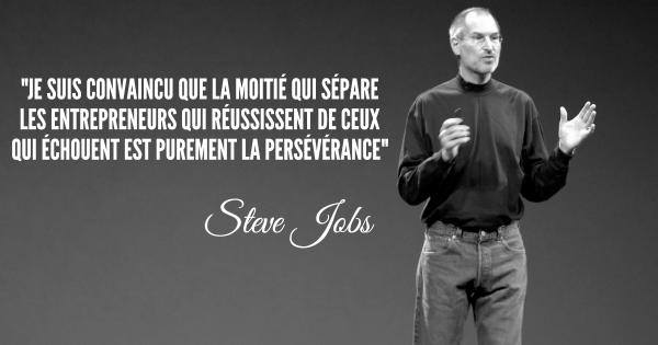 Steve Jobs - biografia - nagłówek - Francuski przy kawie