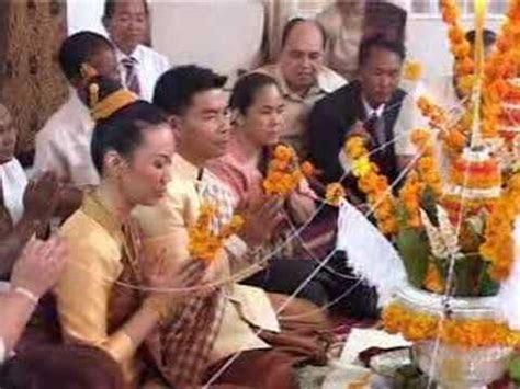 Lao Wedding Pt. 3 / 12 ( Traditional Lao Wedding Ceremony