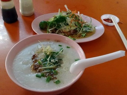 Fish Porridge and Yu Sheng