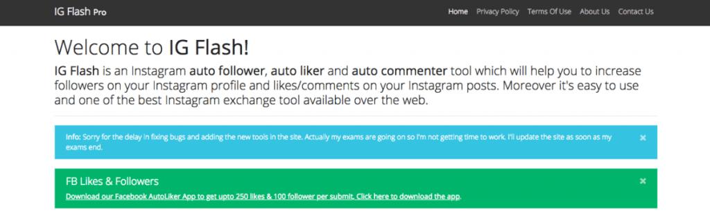 Instagram Auto Follower Tool
