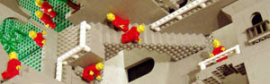 Matemático recria obra de holandês com lego (Andrew Lipson/Barcroft Media/Getty Images)