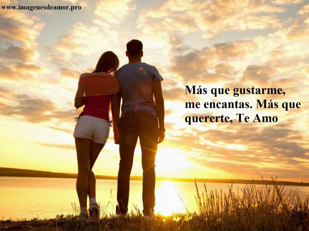 Imagen De Dos Enamorados Con Una Frase De Amor