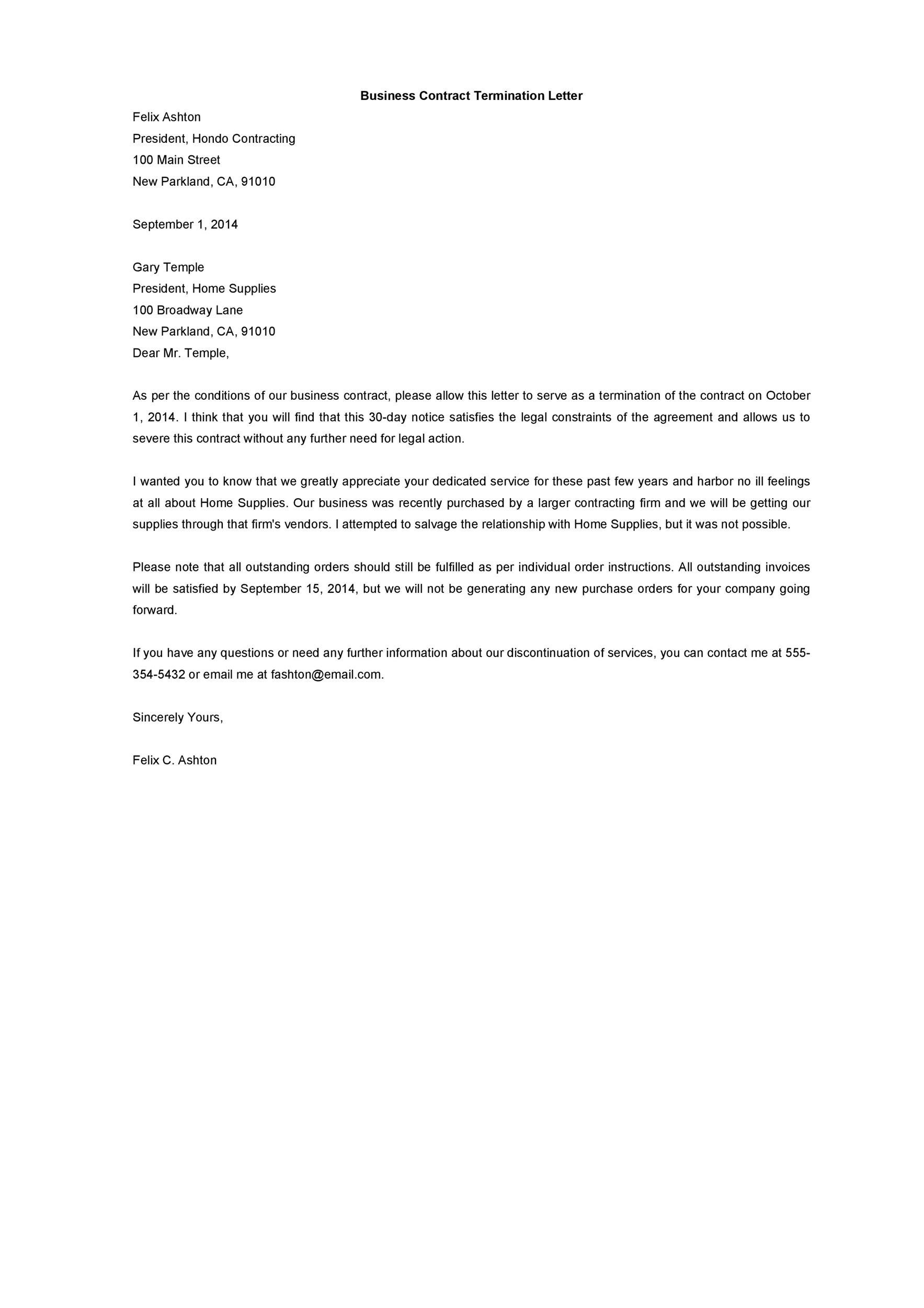 Employment Termination Letter Sample from lh4.googleusercontent.com