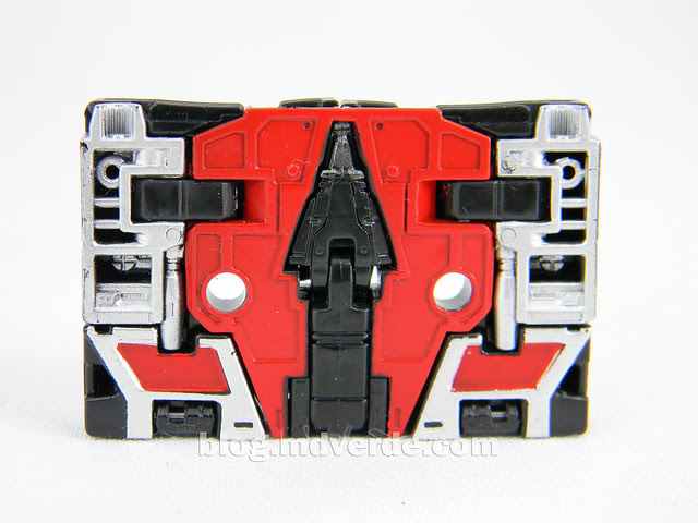 Transformers Laserbeak Masterpiece - modo alterno