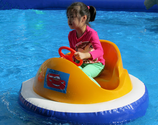 Water bumper cars/boats for kids