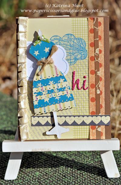 """""""hi"""" Card and Whoo hooo!!!!"""
