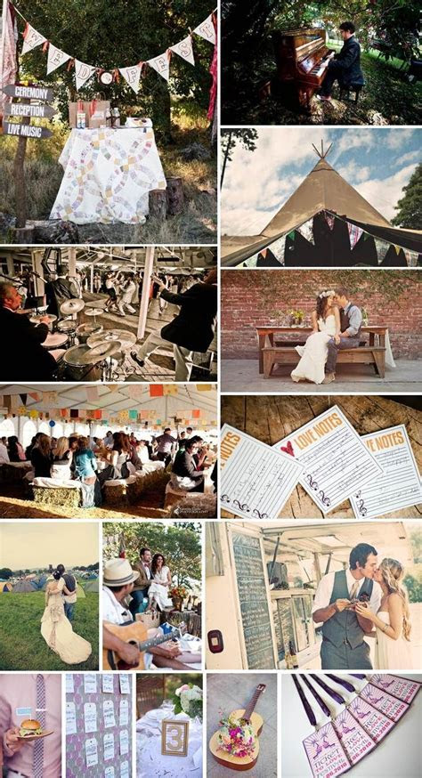 A music wedding festival   inspiration for the ceremony