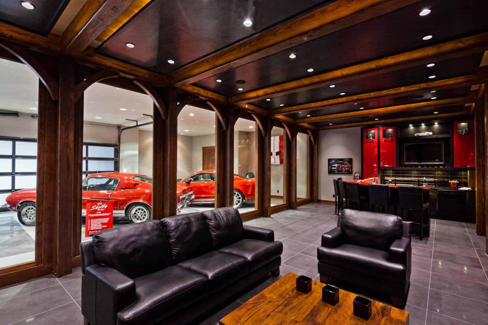 The car lovers man cave