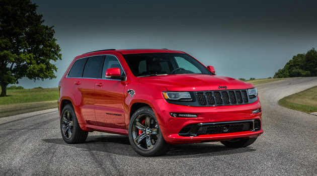... that jeep was coming out with a hellcat powered jeep grand cherokee