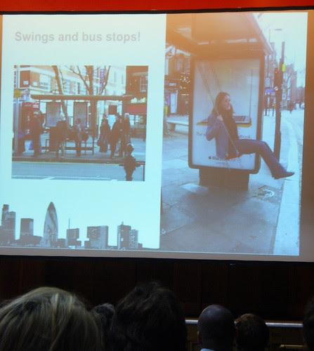 Geekyoto - Swings at Bus Stops