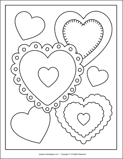 Get Inspired For Valentine Pictures To Color