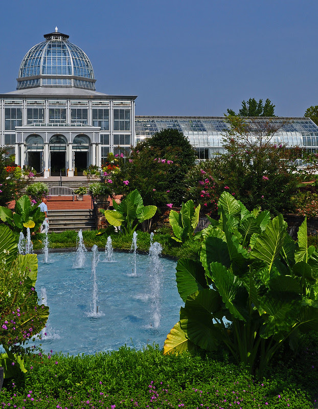 Fountain Garden and Conservatory