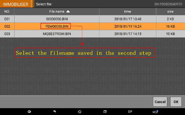 OBDSTAR X300 DP Program Smart Key for BWM FEM BDC (58)