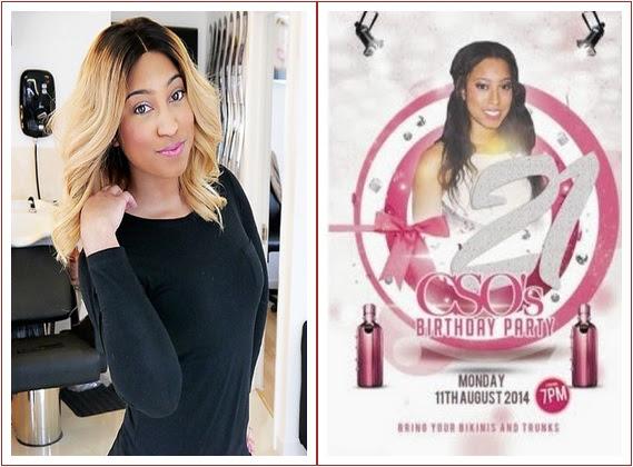 ania Chris & Anita Oyakhilome's Daughter Throws Bikini Party In London