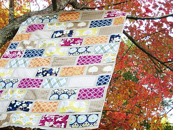 Modern Meadow Colorbrick Quilt