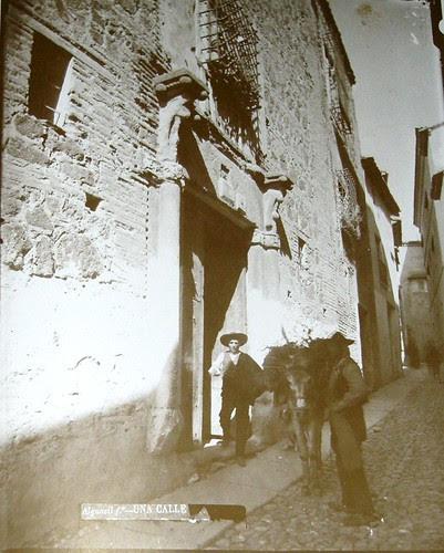 Azacanes en la Calle del Angel, Toledo. Foto Casiano Alguacil