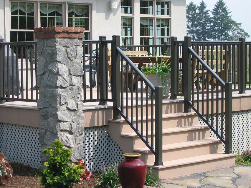 specrail s aluminum deck porch railing system is the optimal choice if
