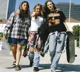 fashion grunge era tahun 90'an
