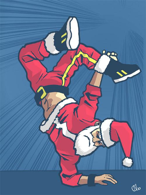 04 - B-Boy Santa