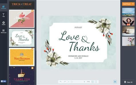 Wedding Thank You Cards   Design Your Own Wedding Cards