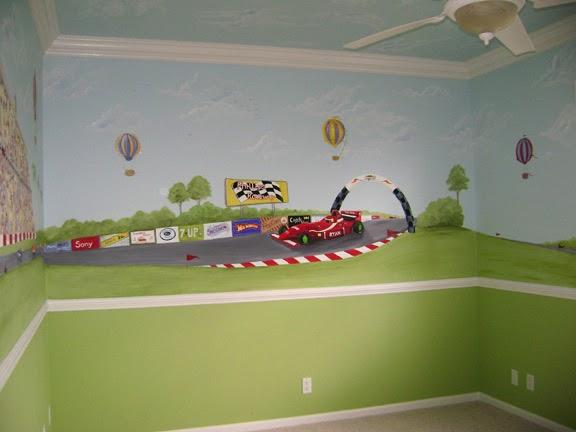 Disney cars wallpaper free cars wall mural for Car wall mural wallpaper