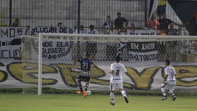 ABC x Botafogo-PB - Estádio Frasqueirão - gol Marcinho (Foto: Fabiano de Oliveira)