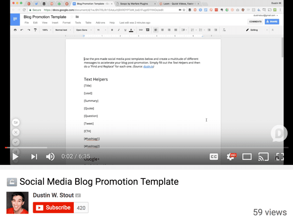You can repurpose just one blog post for several social media platforms.