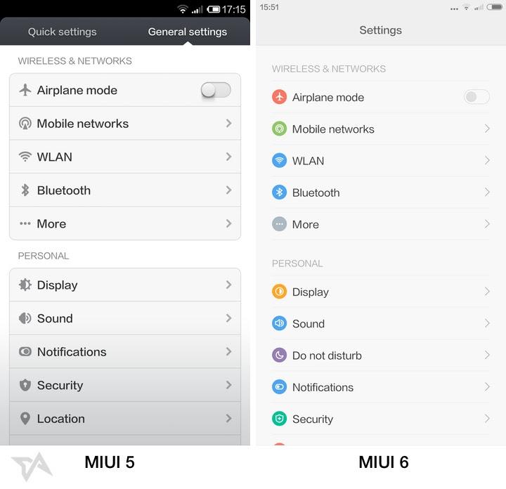 Xiaomi Mi4 review and MIUI 6 versus MIUI 5