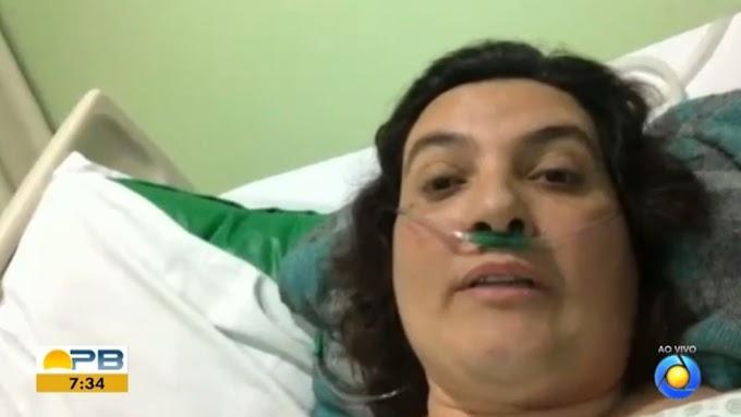 'O plasma chegou e minha vida chegou junto', diz enfermeira que saiu da UTI após tratamento na PB