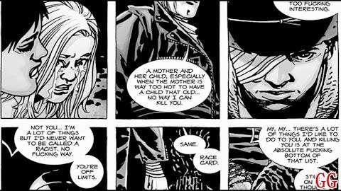 The Walking Dead Comic Glenn Death Issue