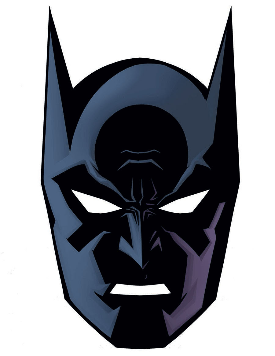 Batman Face Drawing At Getdrawingscom Free For Personal Use