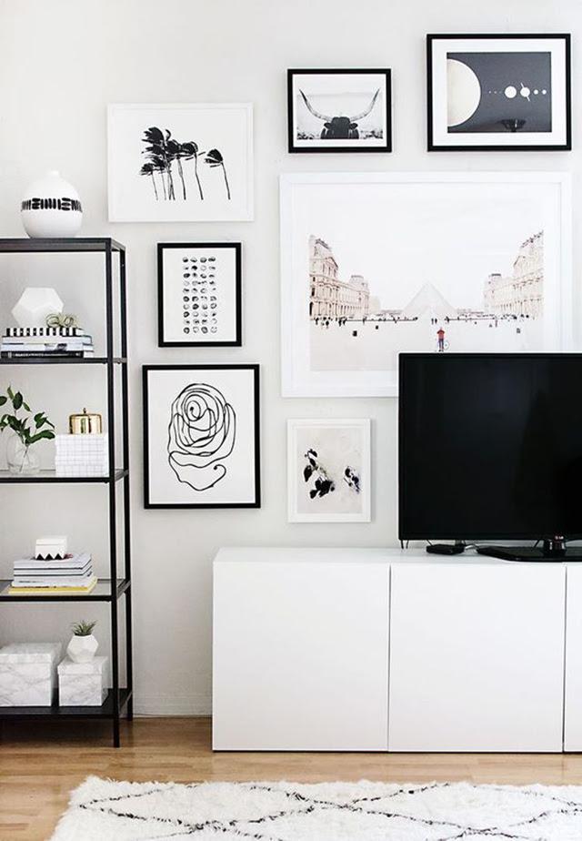 8 Creative Ways To Decorate Around Your Tv Tuft Trim