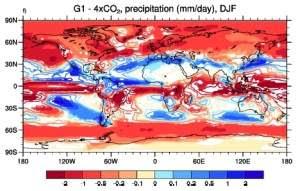 Geoengenharia pode reduzir drasticamente chuvas na Terra