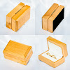 Double Ring Box For Wedding Ceremony