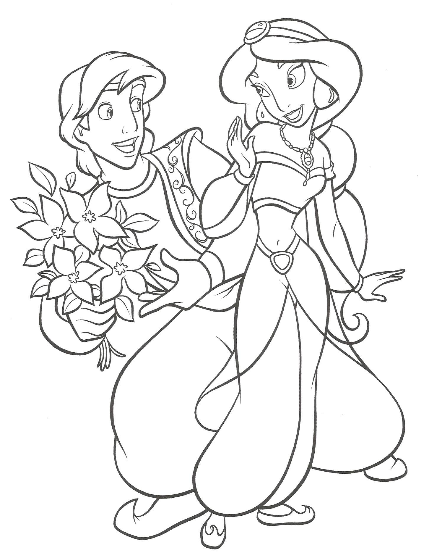 Dessin Dessin de jasmine gratuit