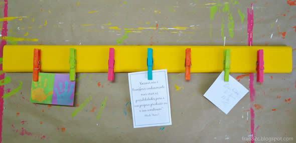 Que tal fazer um mural de recados baratinho papel nobre for Como fazer um mural de recados