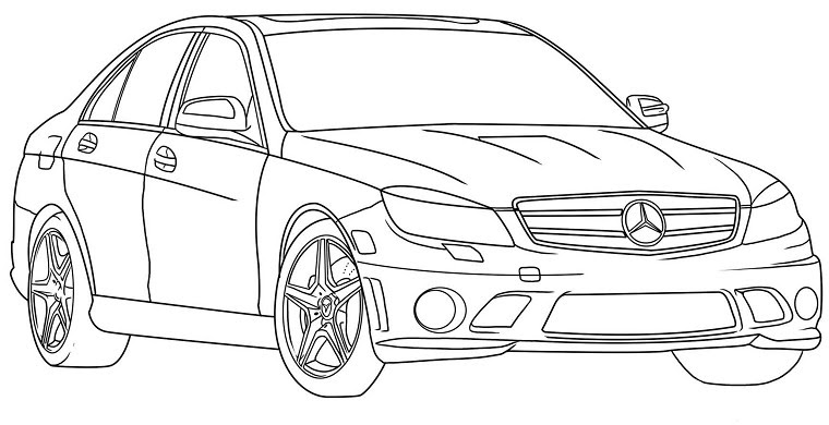 Coloriage A Imprimer Voiture Audi