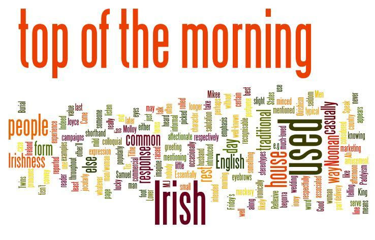 Top Of The Morning To Yourself Macmillan Dictionary Blog
