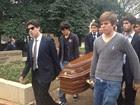 Ruy Mesquita é sepultado em SP (Nathália Duarte/ G1)