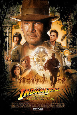 Indiana Jones and the Kingdom of the Crystal Skull Theatrical One-Sheet Movie Poster